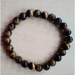 Bracelet pierres oeil de tigre