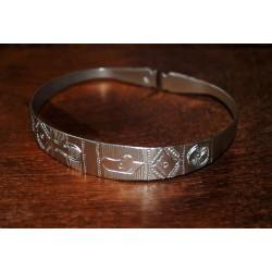 Bracelet en argent Fisaka