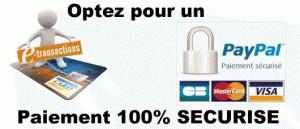 Paiement en ligne 100% sécurisé